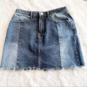 BDG Urban Outfitters Two Tone Skirt Size